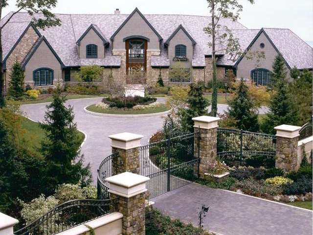 Landscaping Ideas For Front Of House In Northeast : Landscape design showing front of house located in bratenahl ohio near